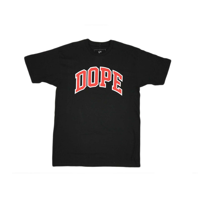 Dope College Tee SS (black)