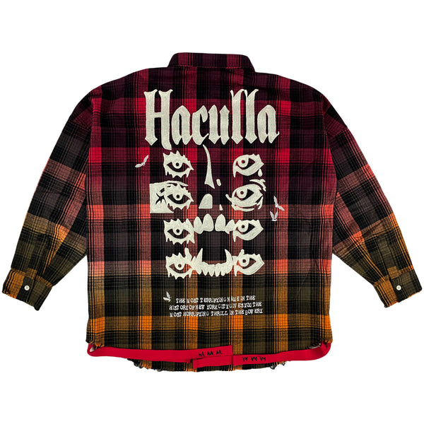 Haculla - Poster Plaid Shirt (red plaid)