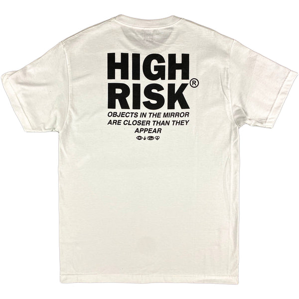 High Risk - Standard Logo T-shirt (white)