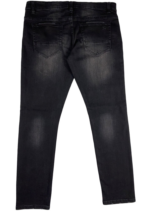 KILOGRAM -5 Pocket Knee Rip (black wash)