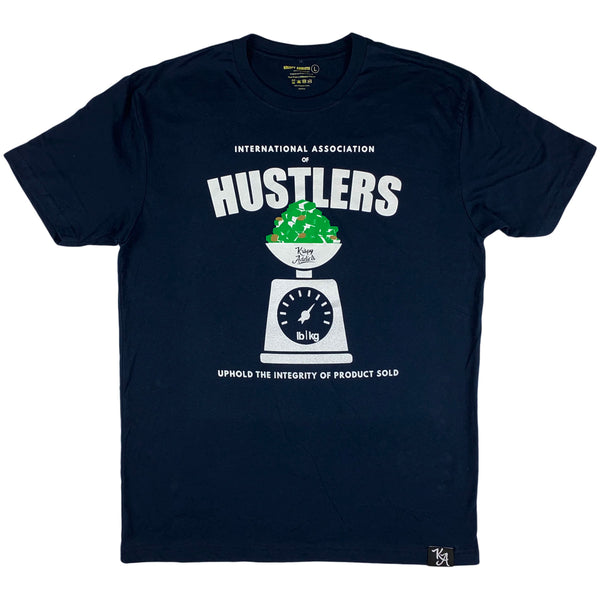 Krispy Addicts - Association of Hustlers Tee (navy)