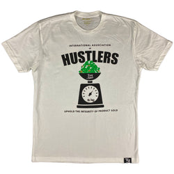 Krispy Addicts - Association of Hustlers Tee (white)