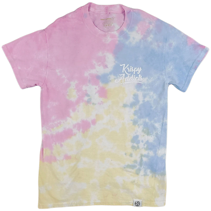 Krispy Addicts - Ballers Are Made Tie Dye Tee (sherbet)