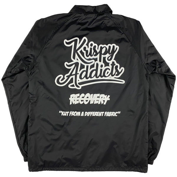 Krispy Addicts - Coach Jacket (black)