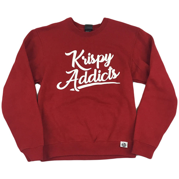 Krispy Addicts - Crew (red/white)