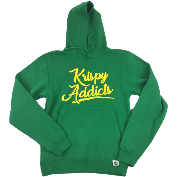 Krispy Addicts - Hoodie (Kelly/yellow)