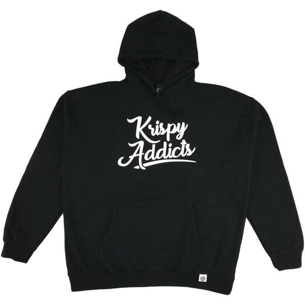 Krispy Addicts - Hoodie (black/white)