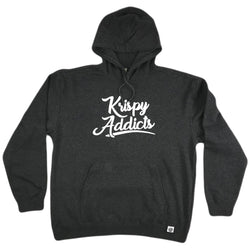Krispy Addicts - Hoodie (charcoal/white)