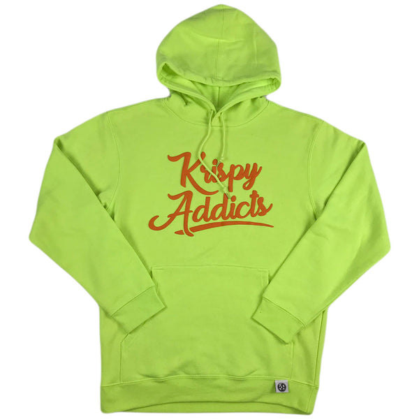 Krispy Addicts - Hoodie (safety green)