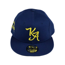 Krispy Addicts - KA Logo Snapback (blue/yellow)