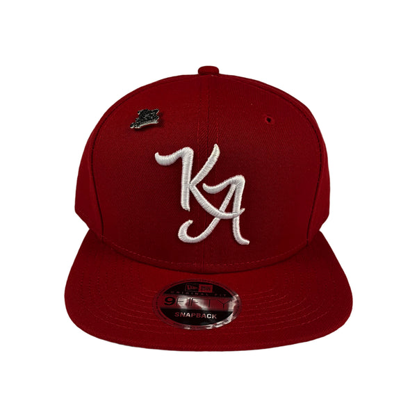 Krispy Addicts - KA Logo X New Era Snapback Red (white)