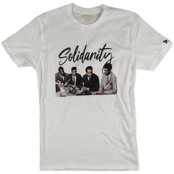 Krispy Addicts - Solidarity Tee (white)