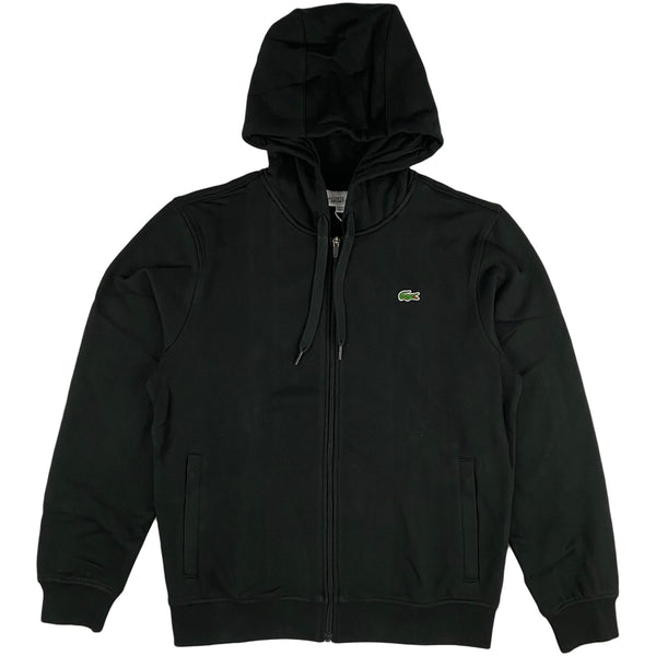 Lacoste - Full Zip Hooded Sweatshirt (black)