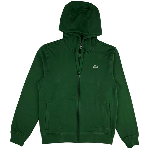 Lacoste - Full Zip Hooded Sweatshirt (green)