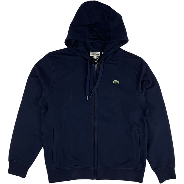 Lacoste - Full Zip Hooded Sweatshirt (navy)
