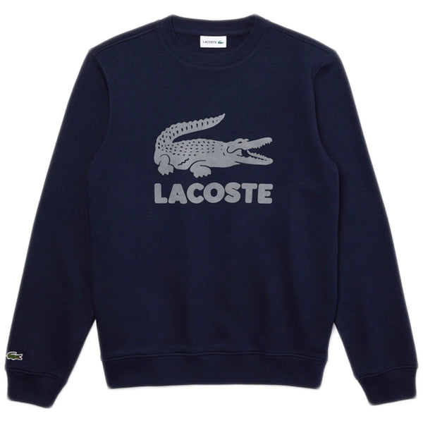 Lacoste - Printed Logo Fleece Crew Neck Sweatshirt [SH2167] (navy)