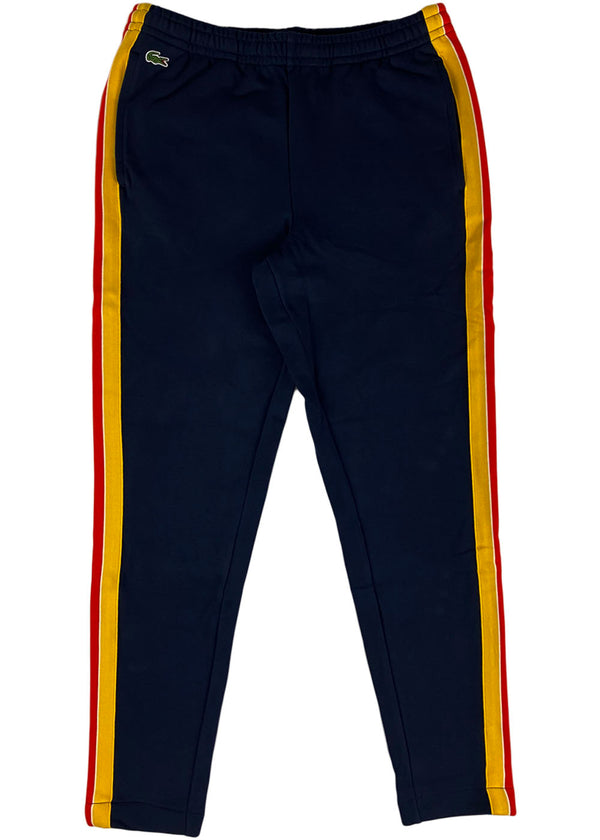 Lacoste - Sport Contrast Band Cotton Jogging Pants (navy)