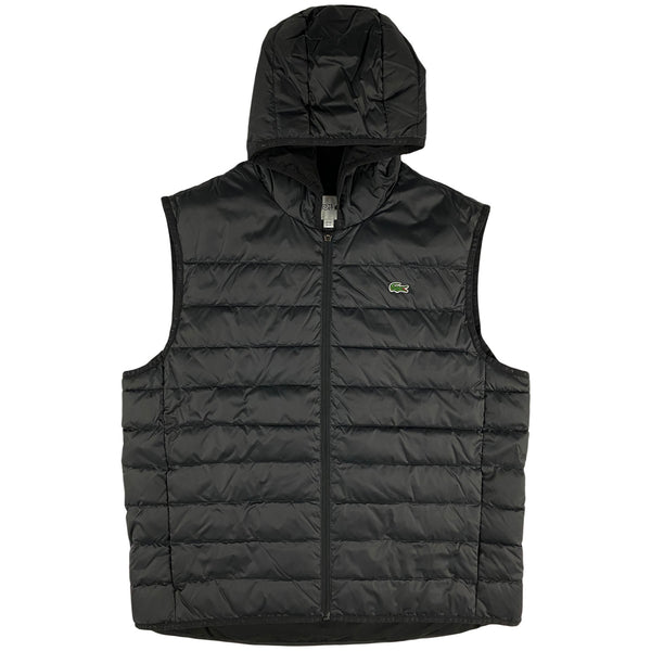 Lacoste - Sport Hooded Quilted Vest [BH1552] (black)