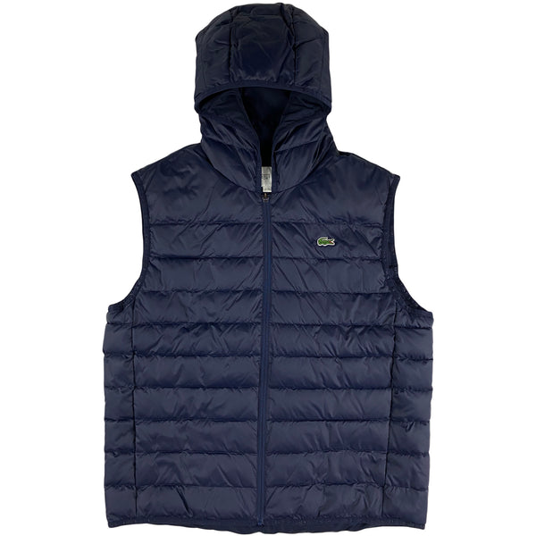 Lacoste - Sport Hooded Quilted Vest (navy)