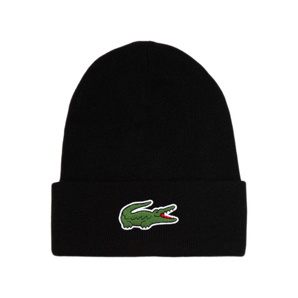 Lacoste - Wool Blend Knit Cap (black)