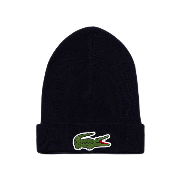 Lacoste - Wool Blend Knit Cap (navy)