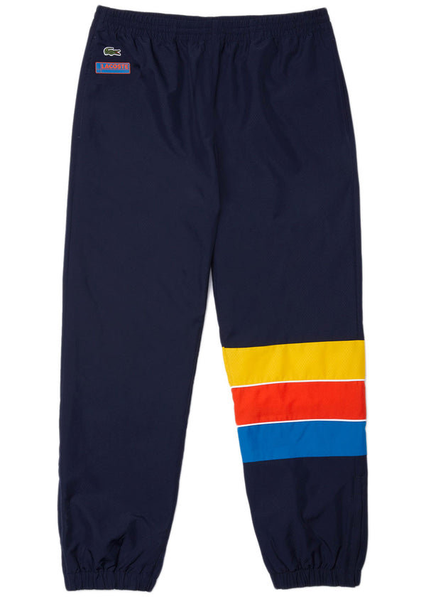 Lacoste - XH2448-51 Sport Striped Colorblock Tracksuit Pants (navy blue/blue/red/yellow)