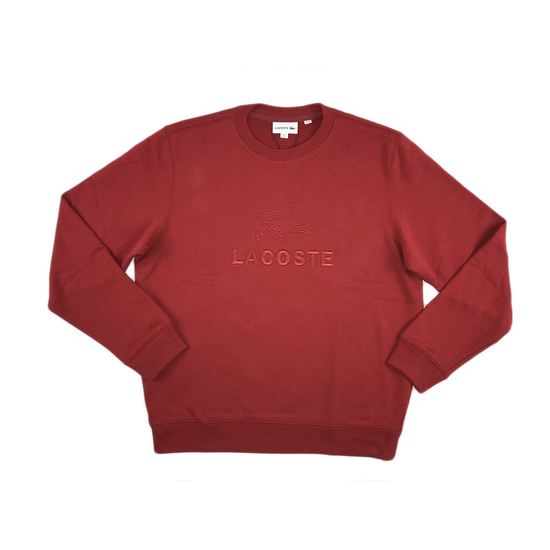 Lacoste Embroidered Logo Cotton Fleece (alizaran)