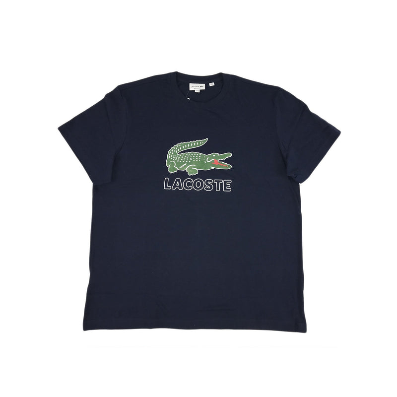 Lacoste - SS Graphic Jersey Croc Regular Fit T-shirt (green/navy)