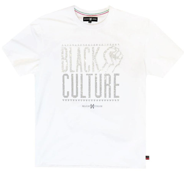 Michael Cherry - Black Culture Tee (white)
