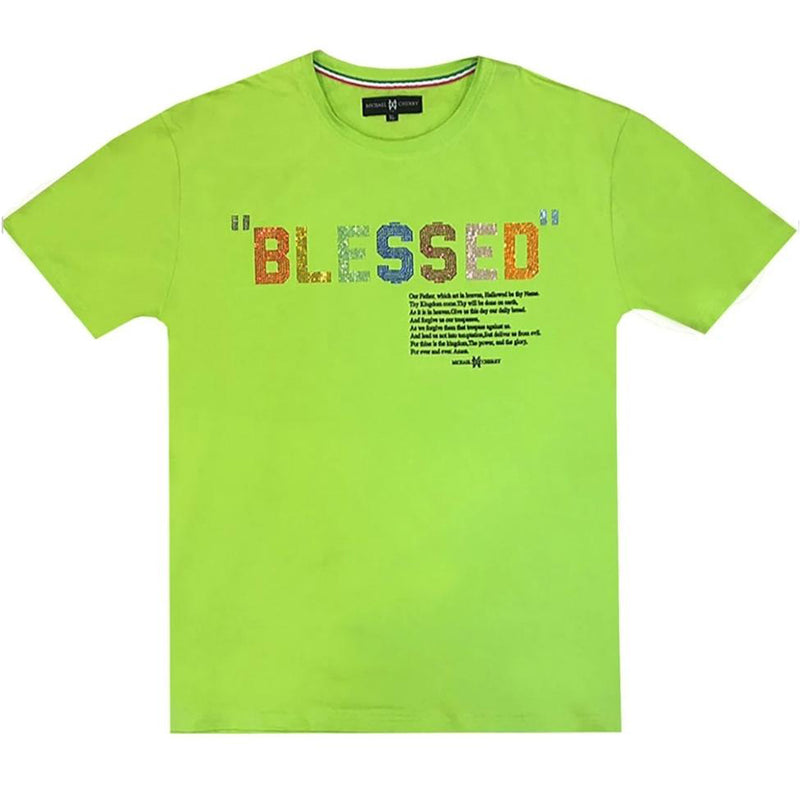 Michael Cherry - Blessed Tee (green)