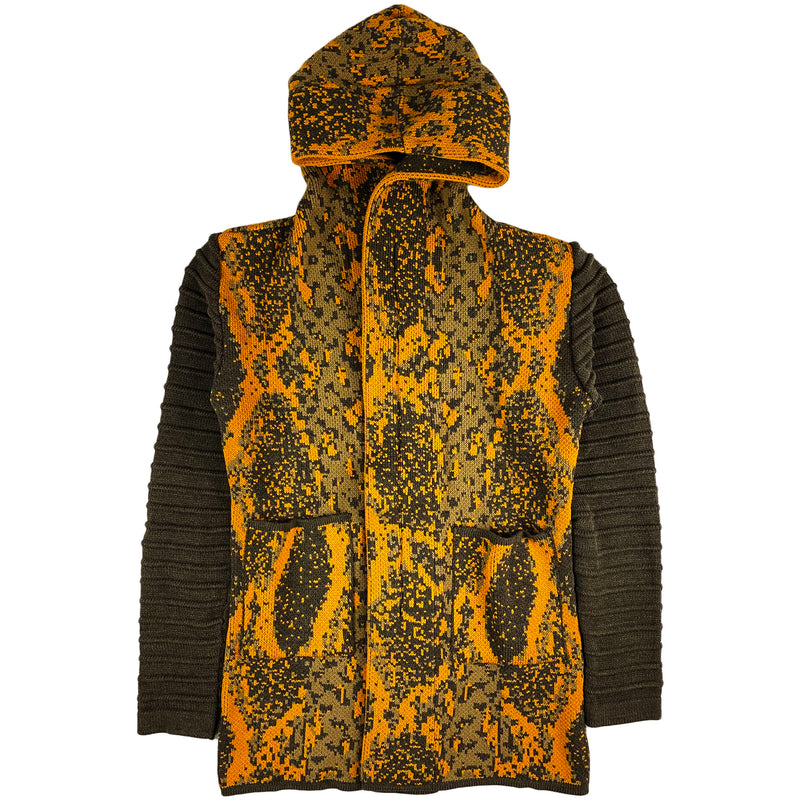One In A Million - Hoodie LS Cardigan (gold/light brown)