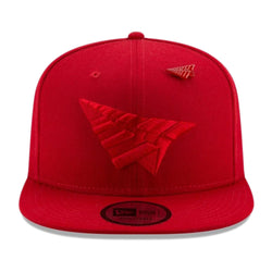 Paper Planes Triple Color Crown Old School Snapback Red