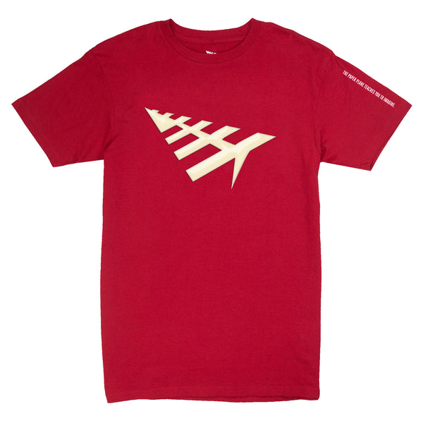 Paper Planes - All Points Tee (crimson)