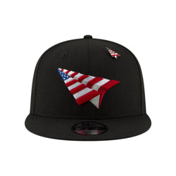 Paper Planes - American Dream Black Crown Old School Snapback