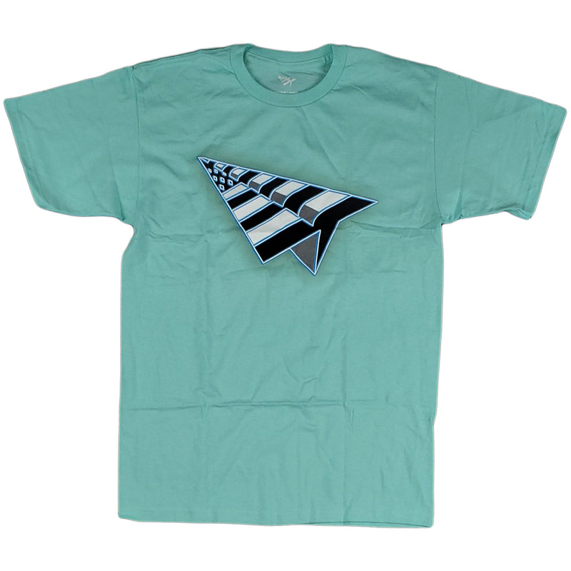 Paper Planes - Flag Tee (mint)