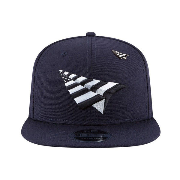 Paper Planes - Navy Boy Crown Old School Snapback