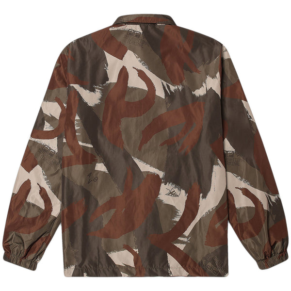 Paper Planes - Summit Coach Jacket Woodland (woodland)