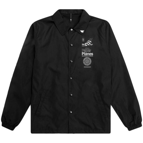 Paper Planes - Summit Coach Jacket (black)