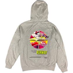 Paper Planes - T.W.I.Y. Runway Hoodie (heather grey)