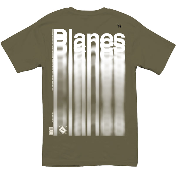 Paper Planes - Waterfall Tee (od green)