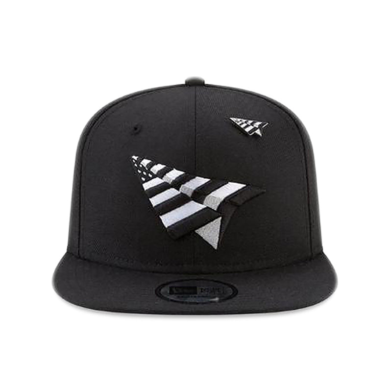 Paper Planes - The Original Crown Old School Snapback W/ Green Undervisor (black)