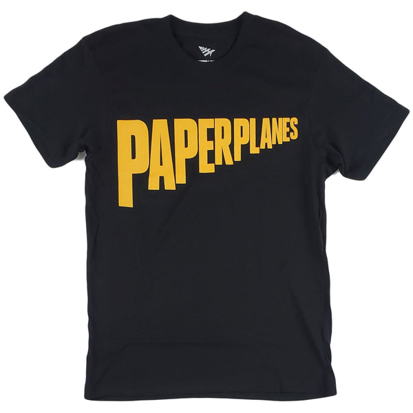 Paper Planes Super Hero Tee (black)