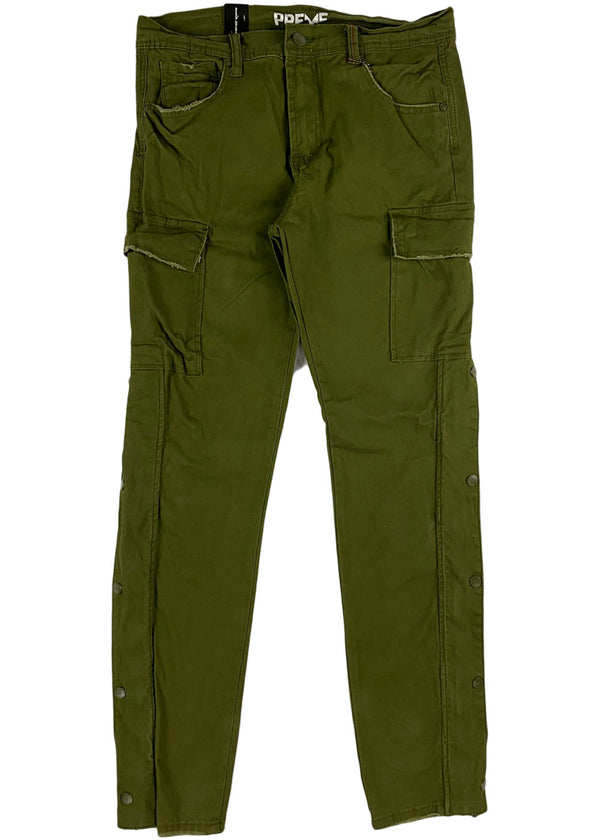 Preme - New Super Stretch Twill Cargo (olive)