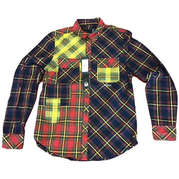 Preme Plaid Woven Shirt (multi color)