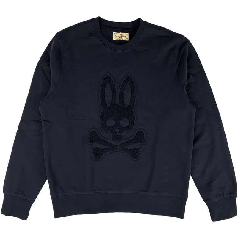 Psycho Bunny - Loop Embroidered Logo Sweatshirt (navy)