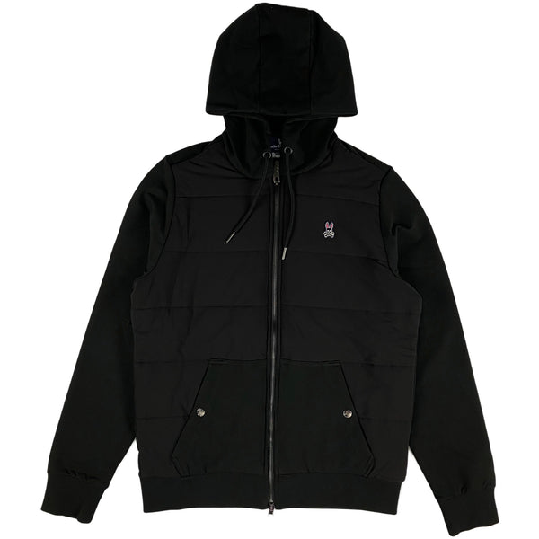 Psycho Bunny - Men's Full Zip Hoodie (black)