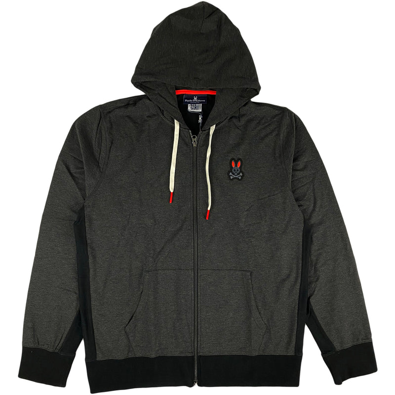 Pyscho Bunny - Dunstable Hoodie (heather black)