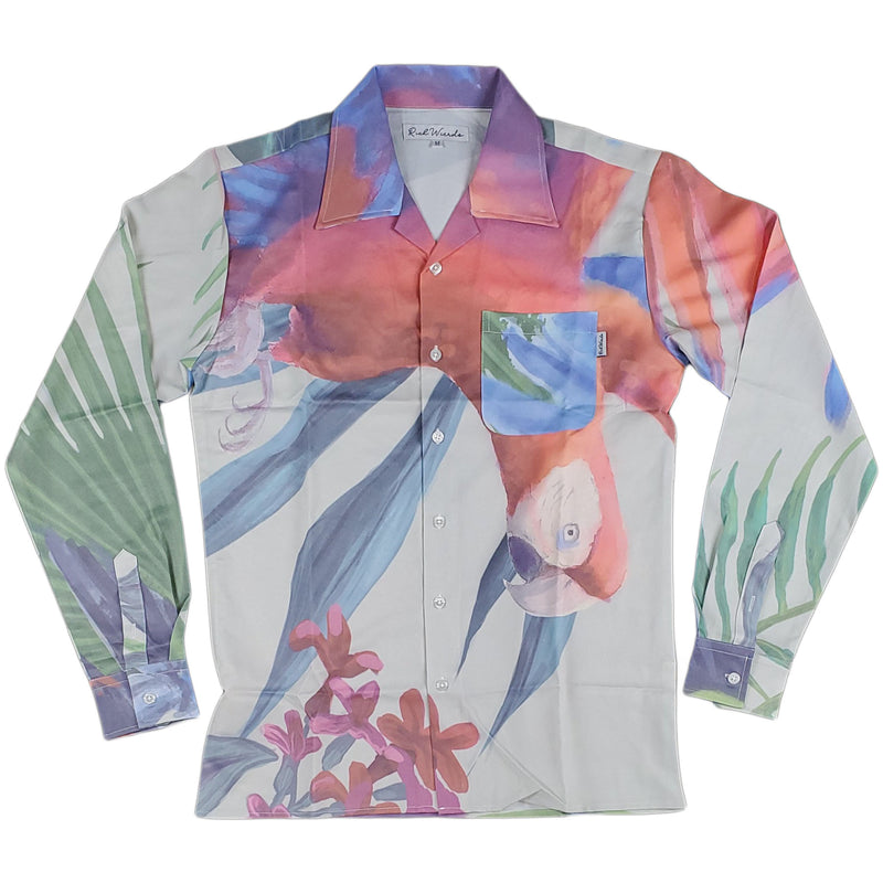 Rich Wierdo Silk Long Sleeve Button Up