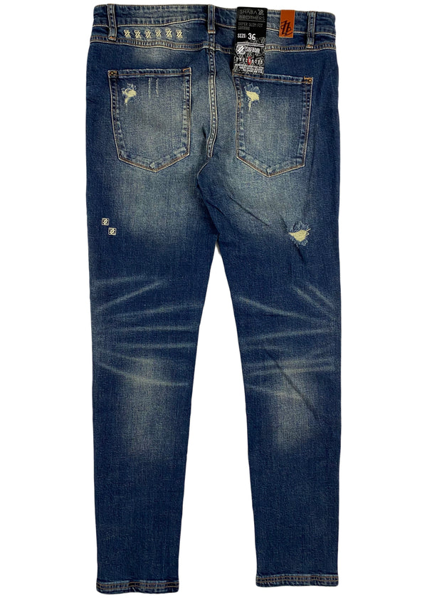 Shabazz Brothers - South Beach Jean (medium indigo washed)