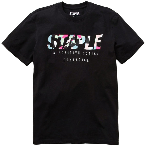 Staple - Chromatic Logo Tee (black)